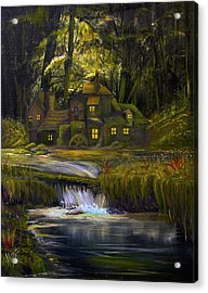 The Mill Acrylic Print by James Kruse