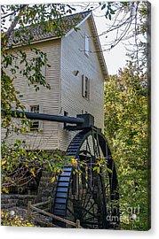 The Mill Acrylic Print by Ken Frischkorn
