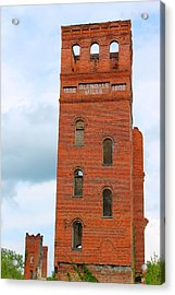 The Mill Acrylic Print by Sarah E Kohara