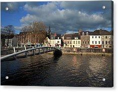 The Millenium Foot Bridge With St Annes Acrylic Print