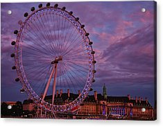 The Millennium Wheel Acrylic Print