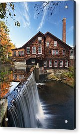 The Mills Acrylic Print by Eric Gendron