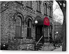 The Milwaukee House Acrylic Print by Randall  Cogle