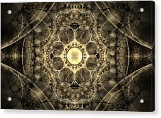 The Mind's Eye Acrylic Print by GJ Blackman