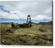 Acrylic Print featuring the photograph The Mine by Marilyn Diaz