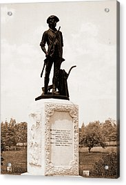 The Minute Man, Concord, Monuments & Memorials, Minutemen Acrylic Print by Litz Collection