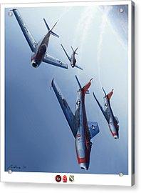 The Minutemen Acrylic Print by Hangar B Productions