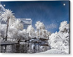 The Mirage In Infrared 1 Acrylic Print
