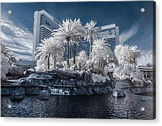 The Mirage In Infrared 2 Acrylic Print