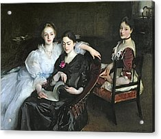 The Misses Vickers, 1884 Acrylic Print