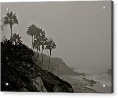 The Mists Of Laguna Beach Acrylic Print by Kirsten Giving