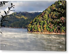 The Mists Of Watauga Acrylic Print by Tom Culver
