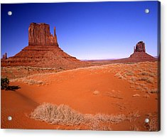 The Mittens Monument Valley Arizona Acrylic Print