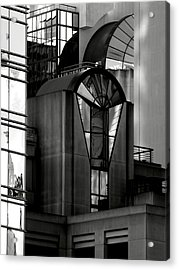 The Modern Highrise Acrylic Print by Bill Gallagher