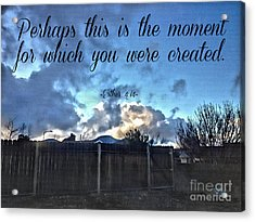 The Moment Acrylic Print