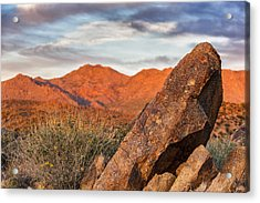 Acrylic Print featuring the photograph The Monolith by Anthony Citro