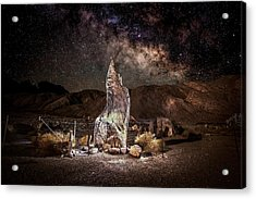 The Monolith - Protect At All Cost Acrylic Print by Peter Tellone