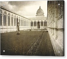 The Monumental Campo Santo  Acrylic Print