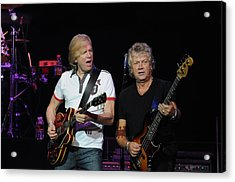 The Moody Blues Justin Hayward And John Lodge 8-8-2009 Acrylic Print