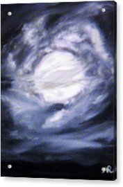The Moon Was Caught In A Vortex Acrylic Print by Nicla Rossini
