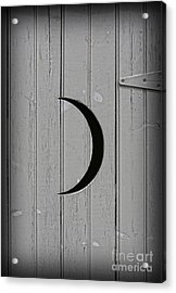 The Moonlight Outhouse Acrylic Print by Lee Dos Santos