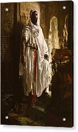 Acrylic Print featuring the painting The Moorish Chief by Eduard Charlemont