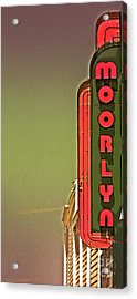 The Moorlyn At The Shore  Acrylic Print