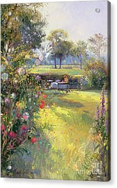 The Morning Letter Acrylic Print by Timothy  Easton