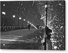 The Moscow Blizzard Acrylic Print