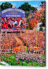 The Most Exciting 25 Seconds Acrylic Print by Jeff McJunkin
