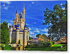 The Most Magical Of Kingdoms Acrylic Print by Rachael M
