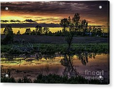 The Most Perfect Sunset Acrylic Print