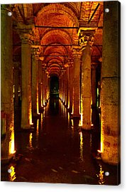 The Most Romantic Place Of Istanbul Acrylic Print