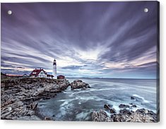 The Motion Of Light Acrylic Print by Jon Glaser