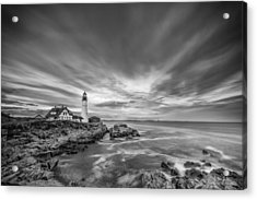 The Motion Of The Lighthouse Acrylic Print by Jon Glaser