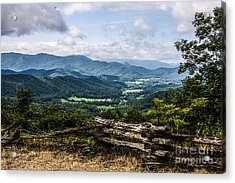 The Mountains Are Calling Acrylic Print by Marilyn Carlyle Greiner