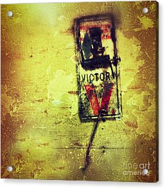 The Mousetrap Acrylic Print by Amy Cicconi