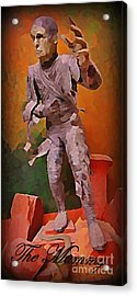 The Mummy Acrylic Print by John Malone