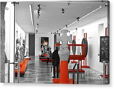 The Museum Acrylic Print by Viesel