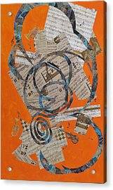 The Music Goes Round And Round Acrylic Print by David Raderstorf