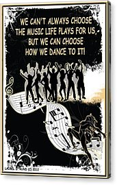 The Music Life Plays For Us Acrylic Print