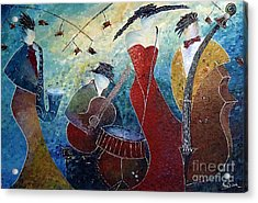The Music Never Stopped 2 Acrylic Print