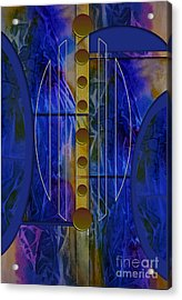 The Musical Abstraction Acrylic Print