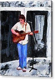 The Musician Acrylic Print