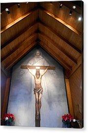 The Mystery Of Faith Frescoe Acrylic Print