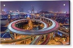 The Nanpu Bridge Acrylic Print