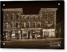The National Bank Of Davis Wv Acrylic Print by Dan Friend