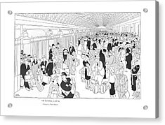 The National Capital Concourse Acrylic Print