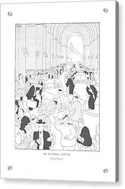 The National Capital  Union Station Acrylic Print