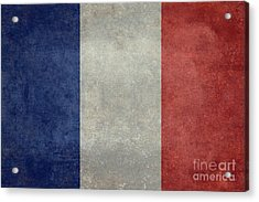 The National Flag Of France Acrylic Print